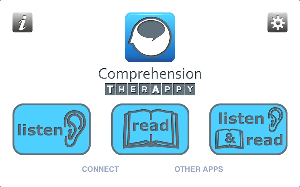 Comprehension TherAppy - Educational App
